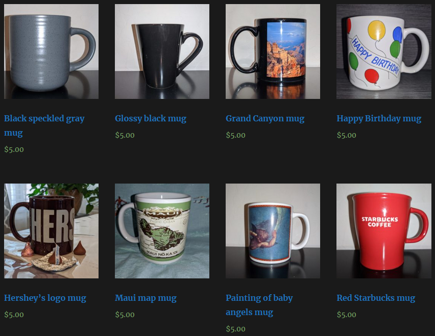 Check out our shop!